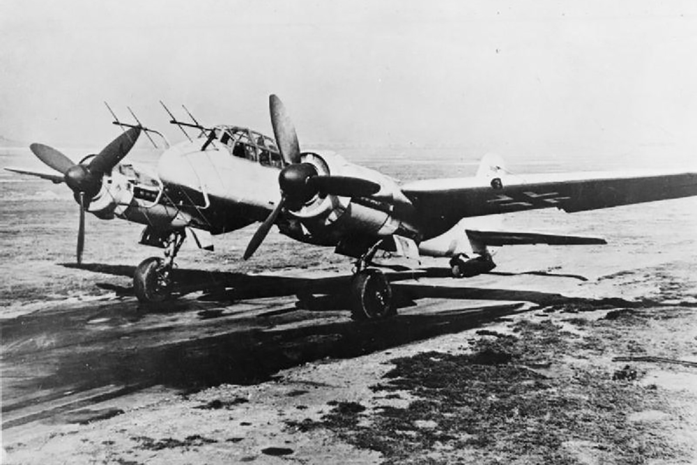 Crash Site Junkers Ju 88 G-6 620562