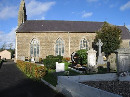 Oorlogsgraven van het Gemenebest Maquiresbridge Roman Catholic Churchyard