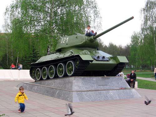 T-34/85 Tank Model 1944 Korolyov