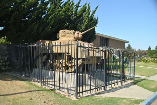 194th Tank Battalion Memorial (Stuart Tank)