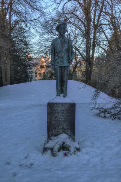 Oorlogsmonument Bergen