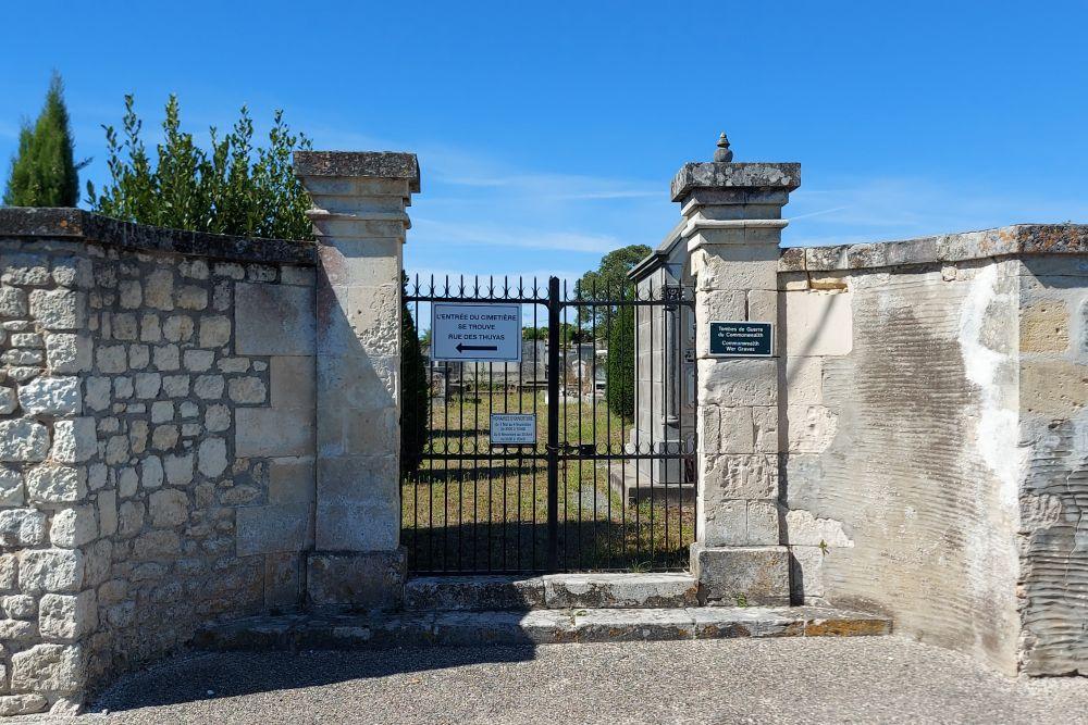 Oorlogsgraven van het Gemenebest Saint-Palais-sur-Mer
