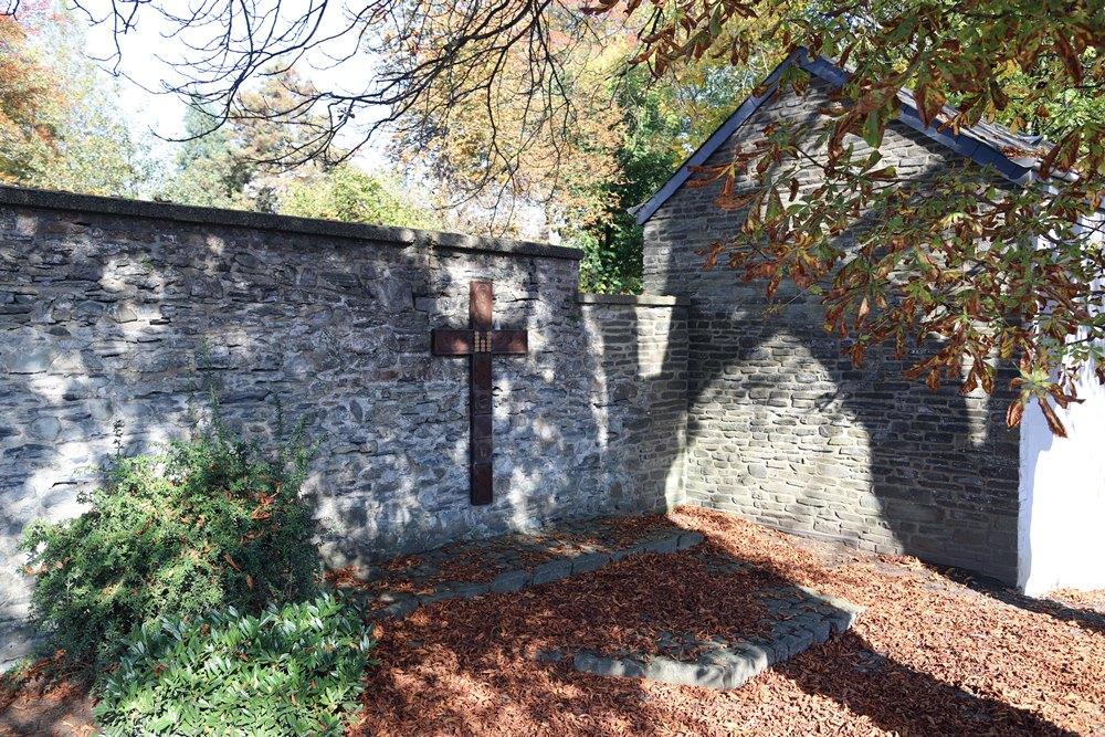 Monument Explosie Landmijnen Bastogne