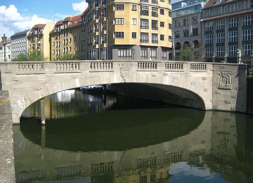 Grünstraßenbrücke Berlijn