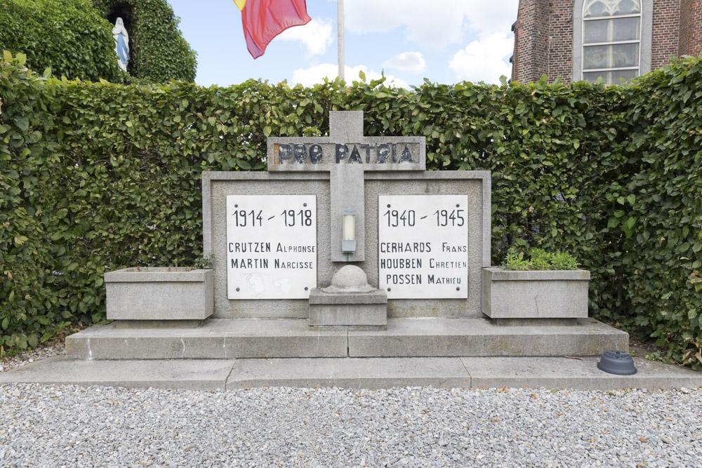Oorlogsmonument Kerkhof Teuven