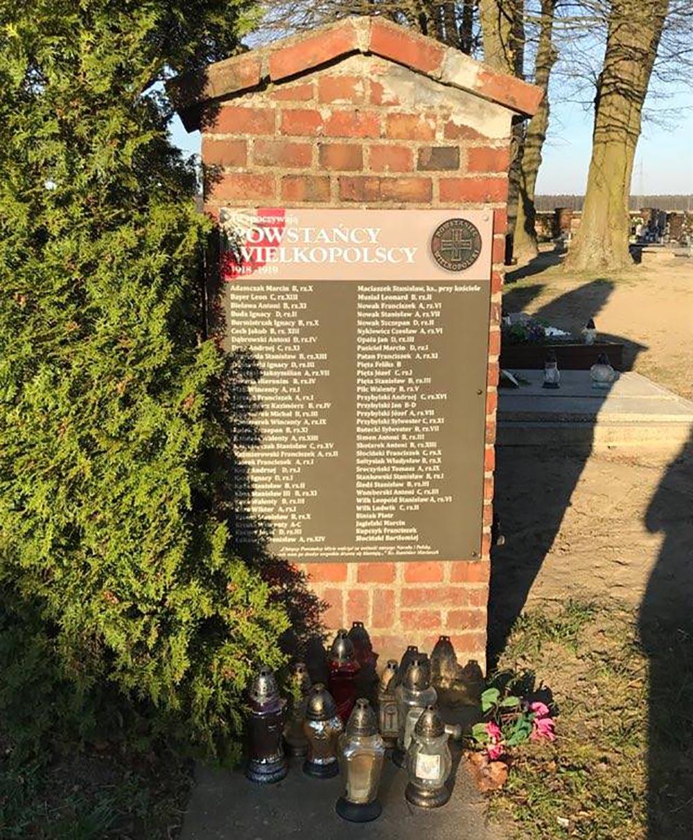 Graven Veteranen Begraafplaats Bukowiec