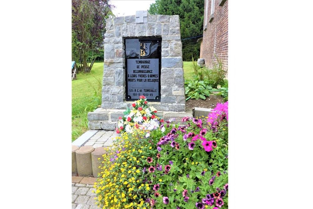 Commemorative Stone Laneuville-au-Bois