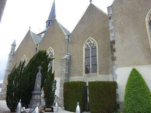 Oorlogsmonument Martigné-sur-Mayenne