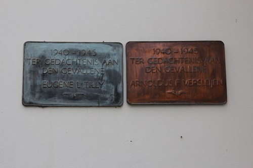 Plaques Killed NS Employees Boxmeer