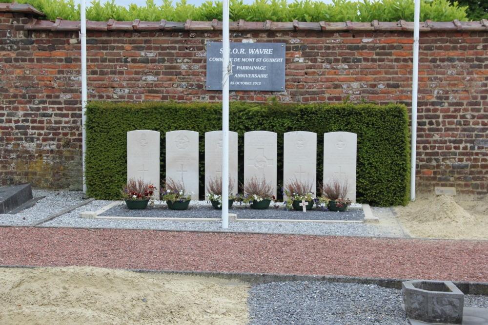Oorlogsgraven van het Gemenebest Corbais
