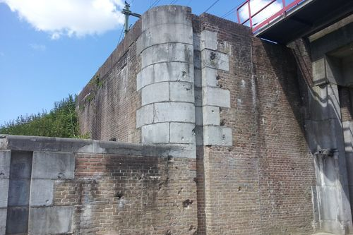 Bullet Holes Railway Bridge Den Bosch