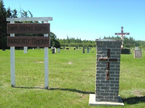 Commonwealth War Graves Ragged Reef Cemetery