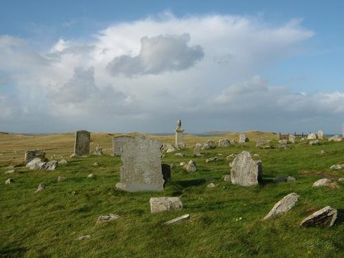 Commonwealth War Graves Clachan Shannda Burial Ground