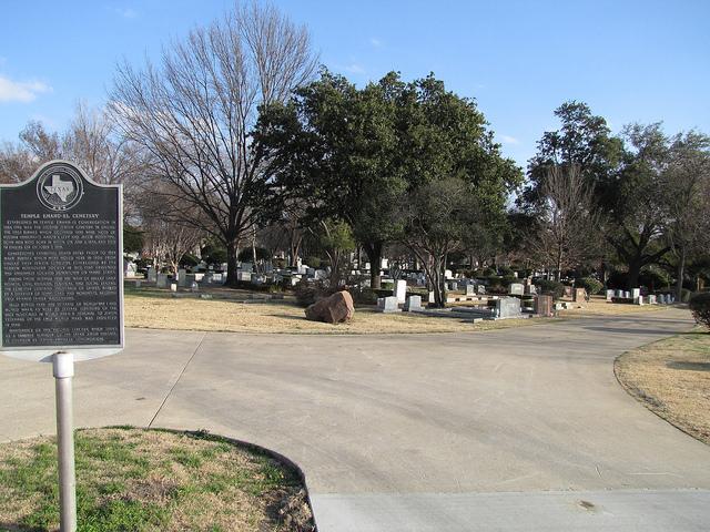 Veteranengraven Temple Emanu-el Cemetery