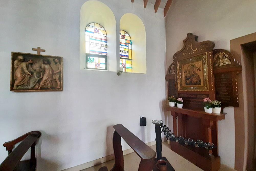 Monument St. Barbarakerk Krekel