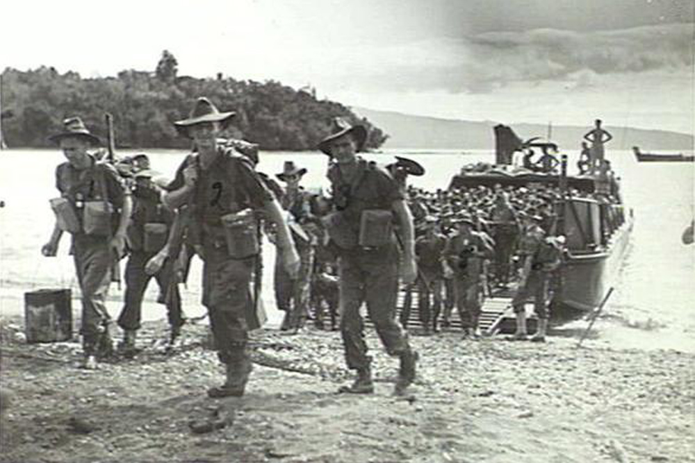 Invasion Beach Wide Bay