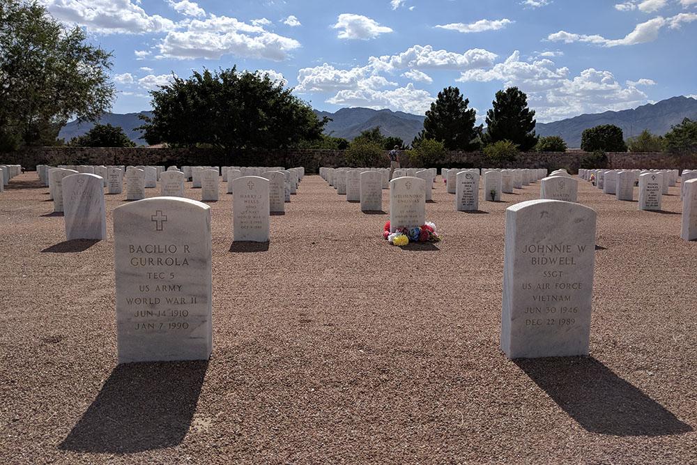 Oorlogsgraf van het Gemenebest Fort Bliss National Cemetery