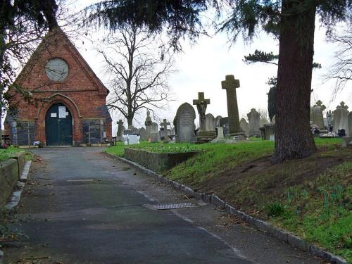 Commonwealth War Graves Nantwich General Cemetery
