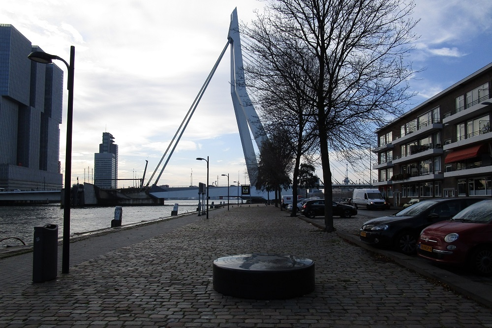 Fire Boundary Bombardment Prins Hendrikkade Rotterdam