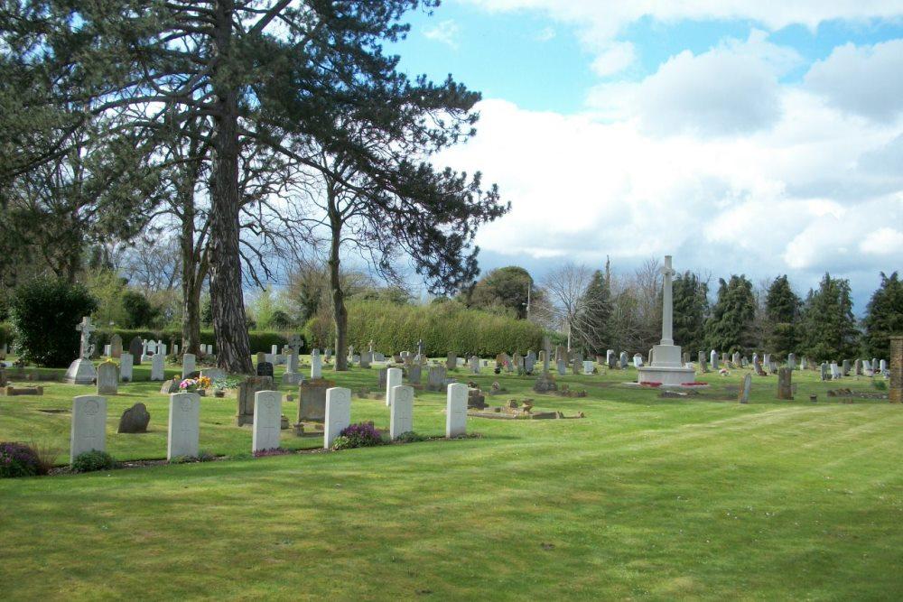Brits Oorlogsgraf Bulford Church Cemetery