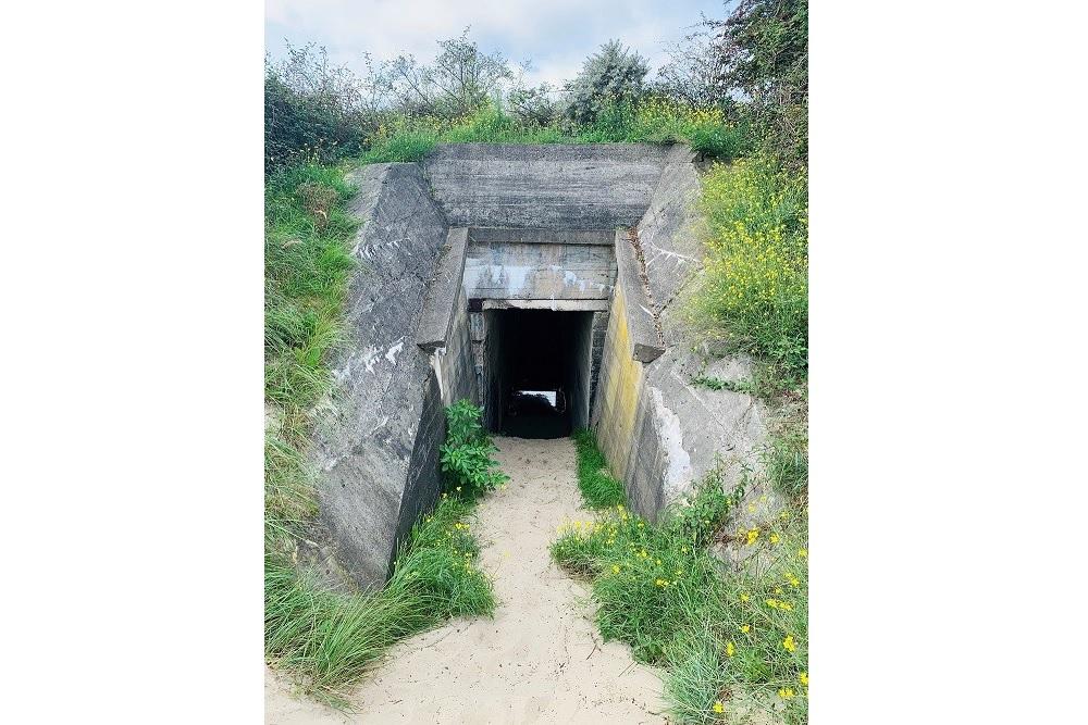 Personnel Bunker Bunkerroute no. 15 De Punt Ouddorp