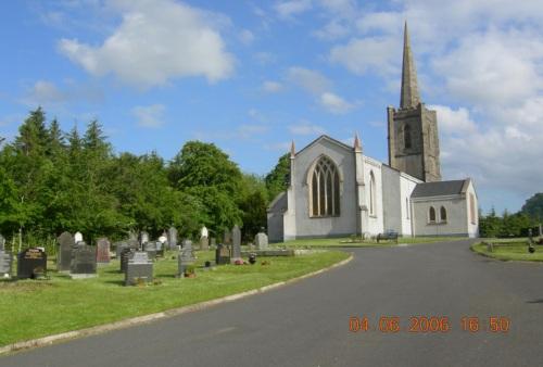 Oorlogsgraf van het Gemenebest Killesher Church of Ireland Churchyard