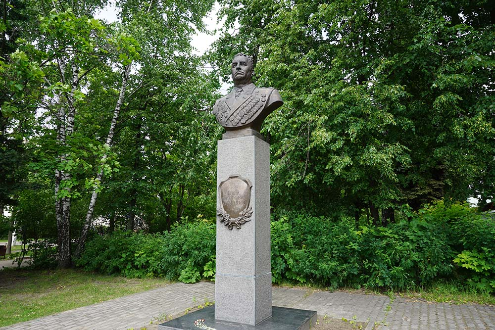 Monument Pavel Batitsky Zarya