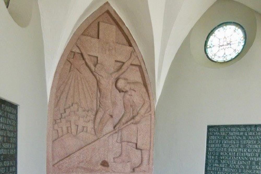 Oorlogsmonument St. Joseph Kirche Kennelbach