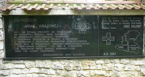 Monument Armia Krajowa