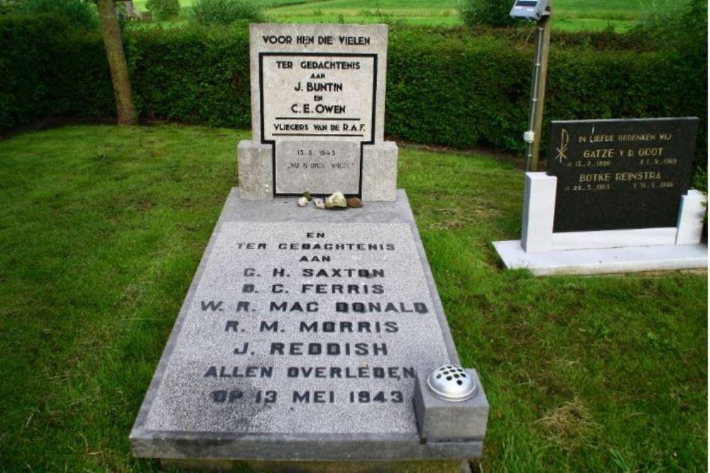 Oorlogsgraven van het Gemenebest Protestant Kerkhof Hieslum