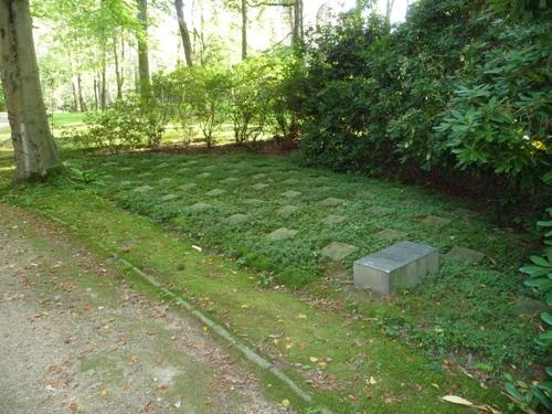 Graven Slachtoffers Nazi-regime Aachen (Waldfriedhof)