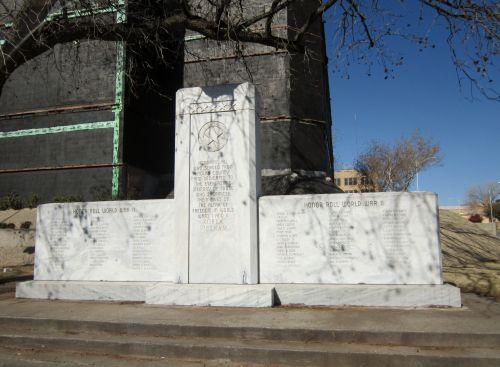 Nolan County monument