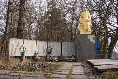Mass Grave Soviet Soldiers Mykulynci