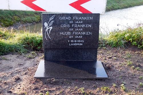 Memorial Grad, Cris and Huub Franken