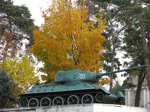 Liberation Memorial (T-34/85 Tank) Mukachevo