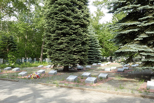 Sovjet Oorlogsgraven Chelyabinsk