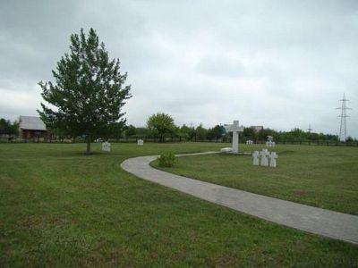German War Cemetery Jemantscha