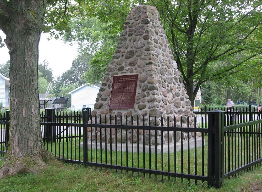 Monument Slag van Cook's Mills