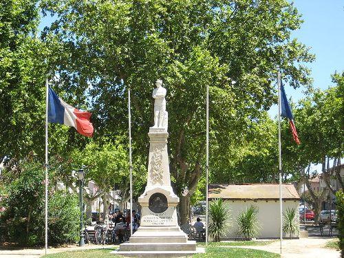 Oorlogsmonument Aigues-Mortes