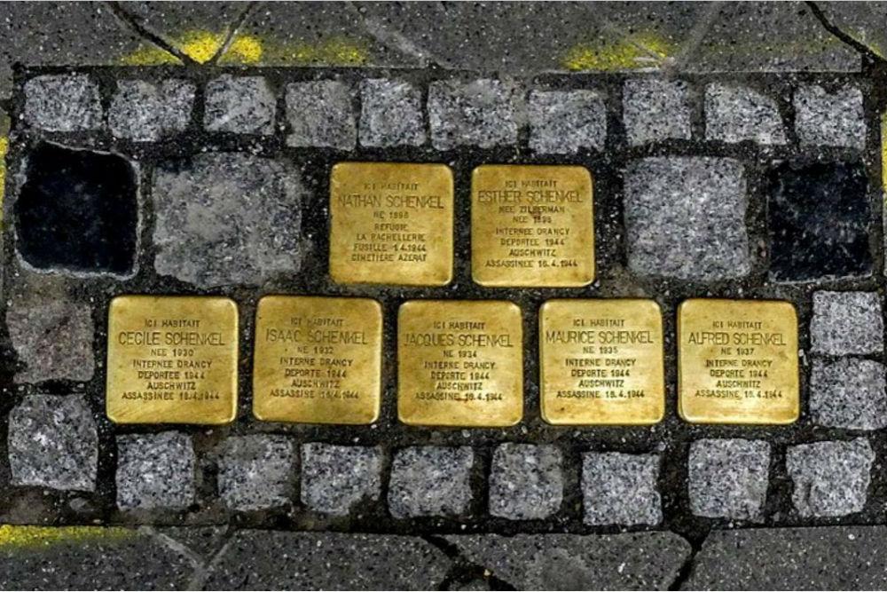 Stumbling Stones 6 Rue de Barr