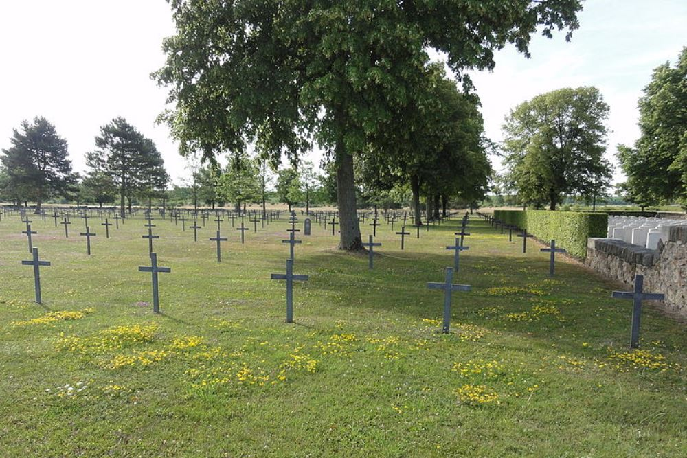 German War Cemetery Sissonne
