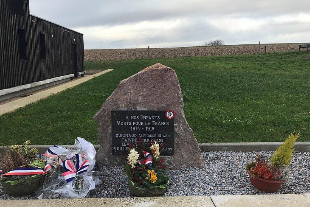 World War I Memorial Le Petit-Mercey
