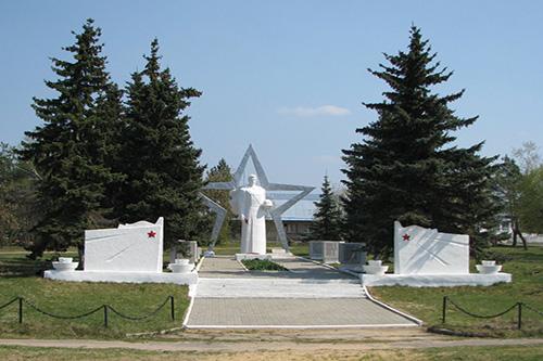Mass Grave Soviet Soldiers Korekozevo