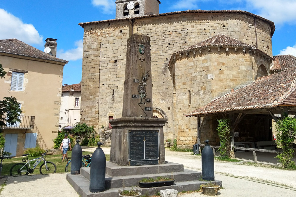 Oorlogsmonument Saint-Jean-de-Côle