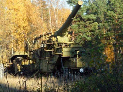 Soviet Railway Guns Lebyazhye