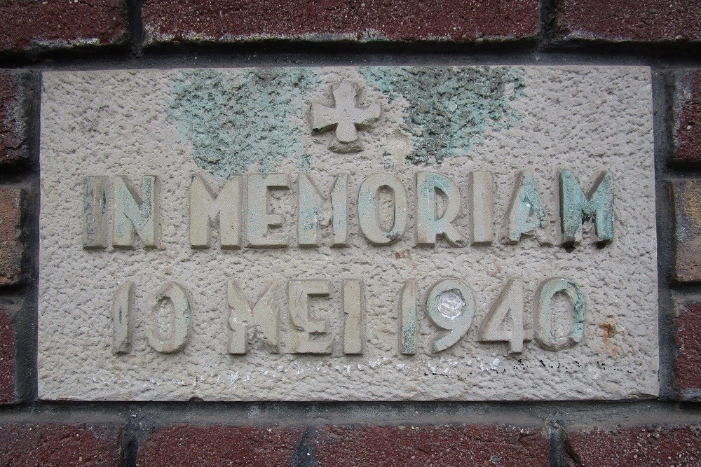 Remembrance Stone 10 May 1940 Putselaan Rotterdam