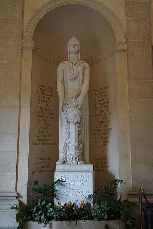 Monument Tweede Wereldoorlog Afgevaardigden