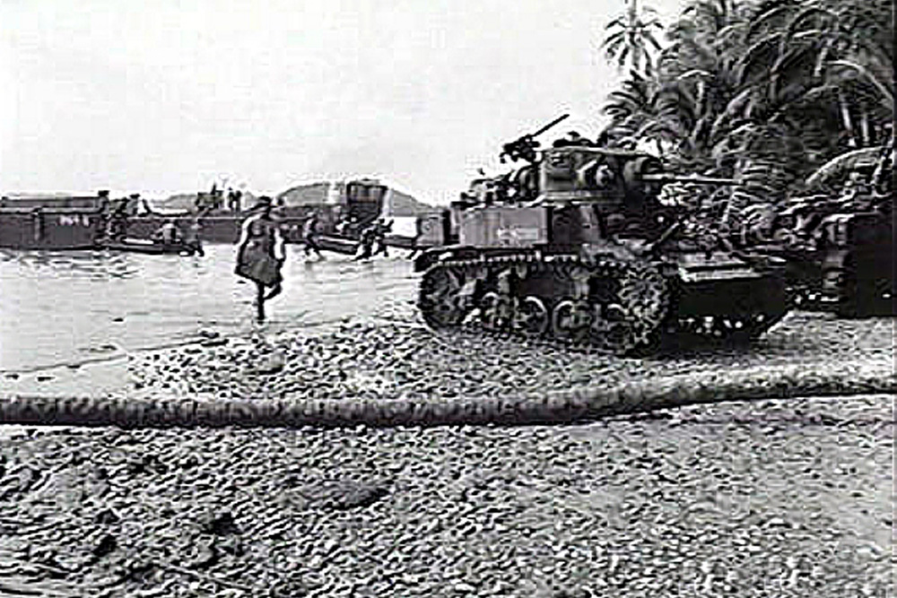 1st Marine Division Camp & Staging Area Pavavu