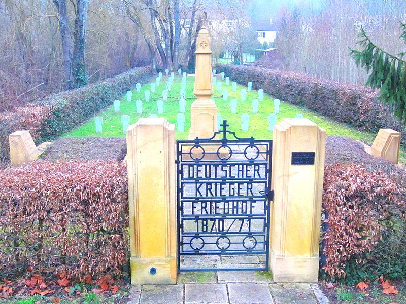 Oorlogsbegraafplaats Frans-Duitse Oorlog Ancy-sur-Moselle