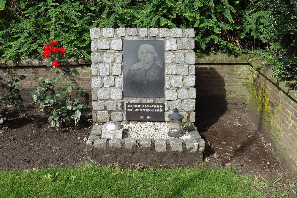 Memorial Stone Cornelia Boon-Verberg